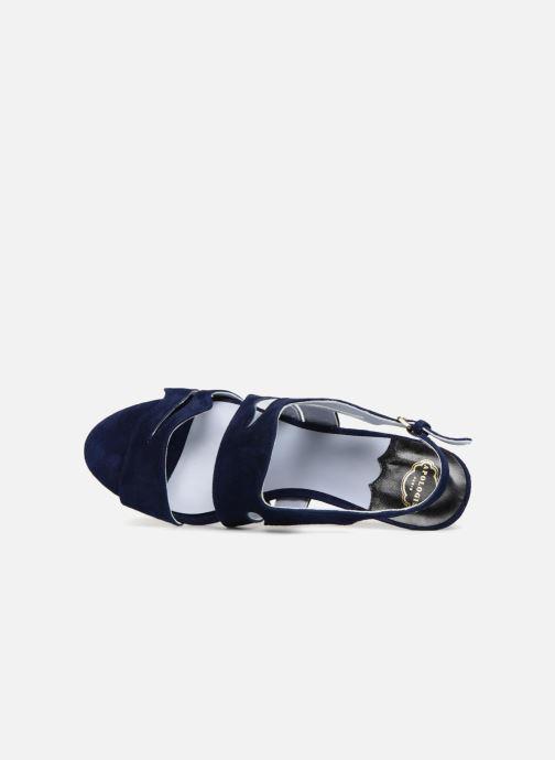 Sandales et nu-pieds Apologie Tsunami Bleu vue gauche