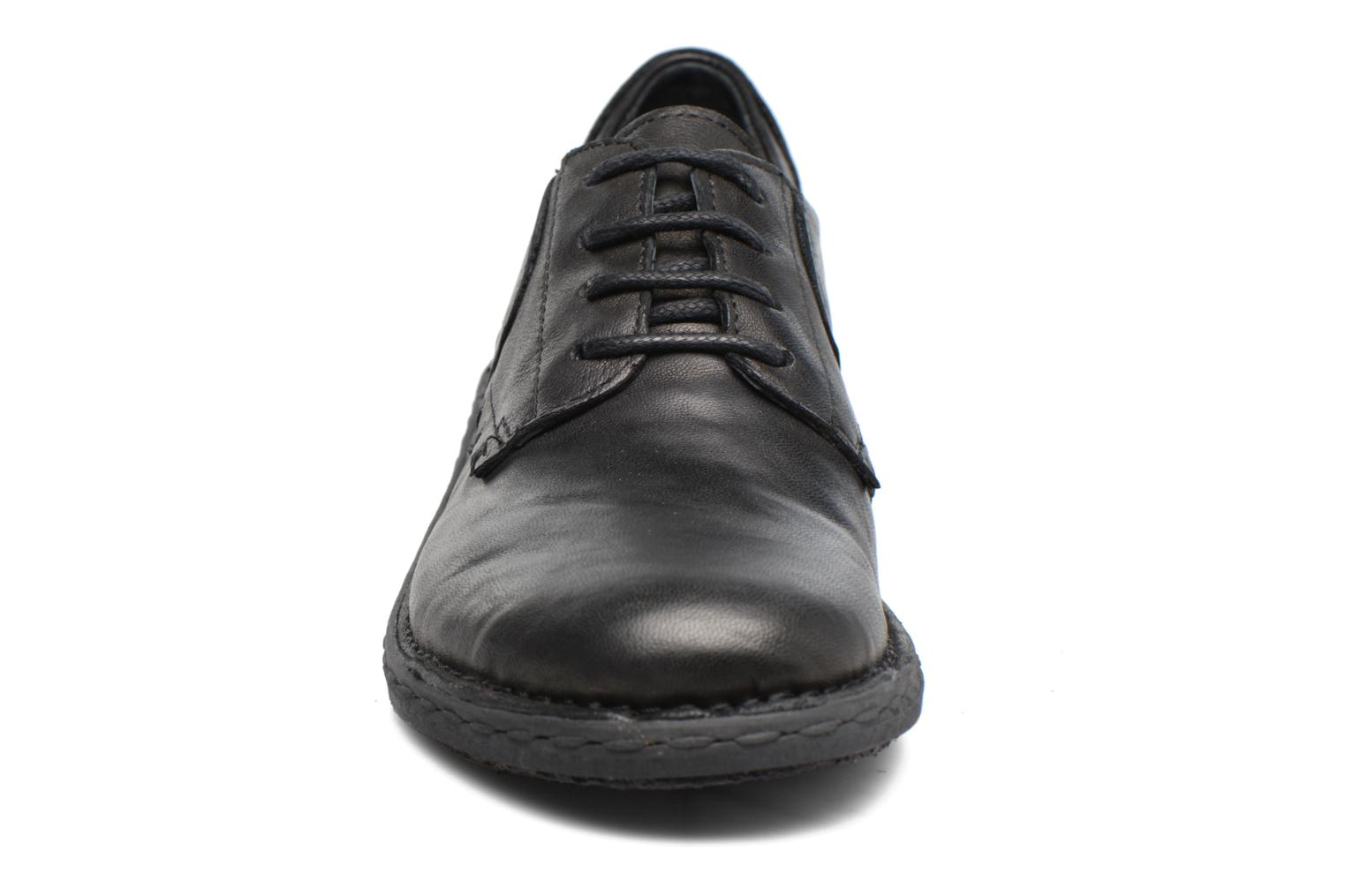 Lace-up shoes Khrio Brancer Black model view