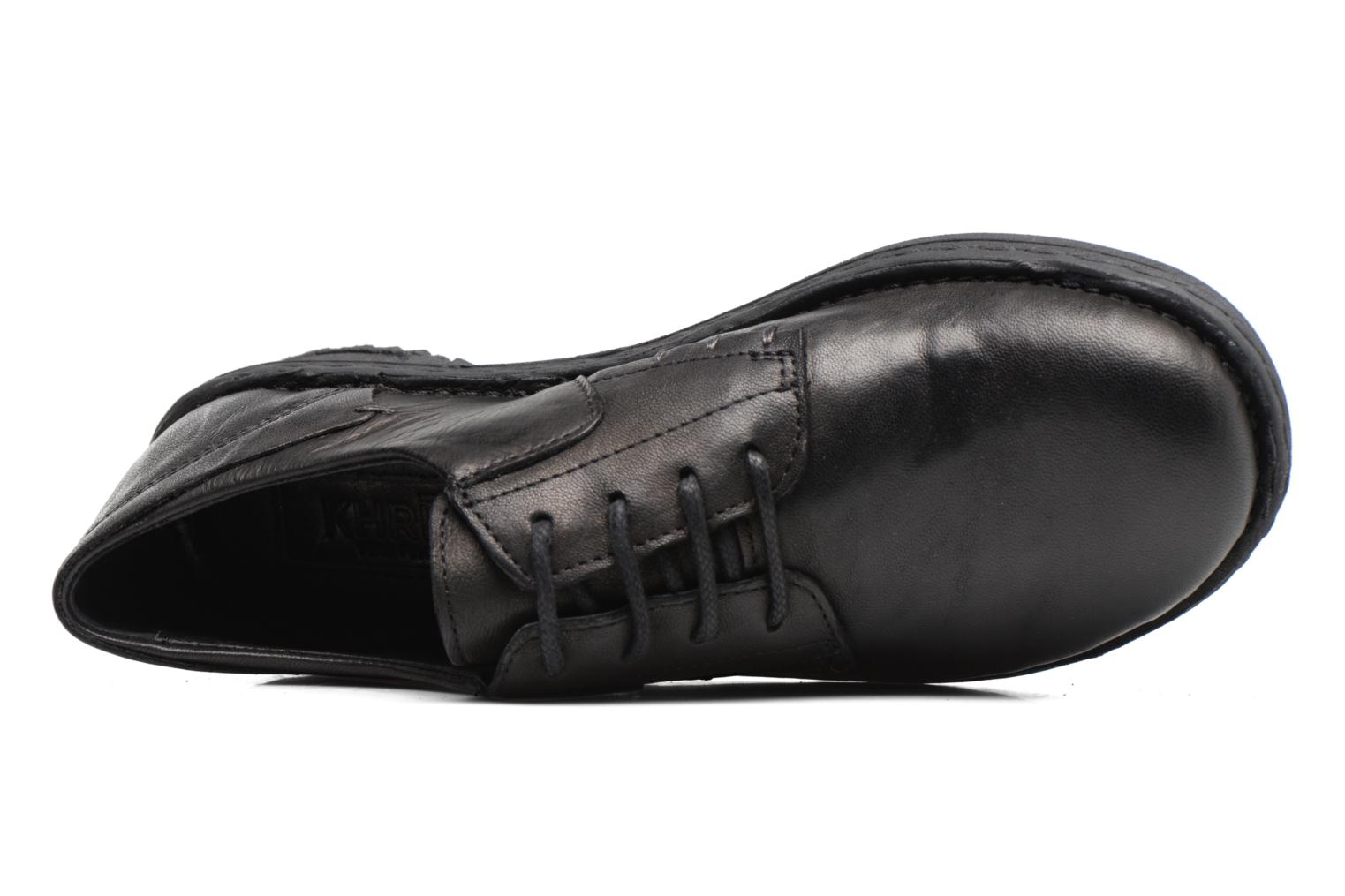 Lace-up shoes Khrio Brancer Black view from the left