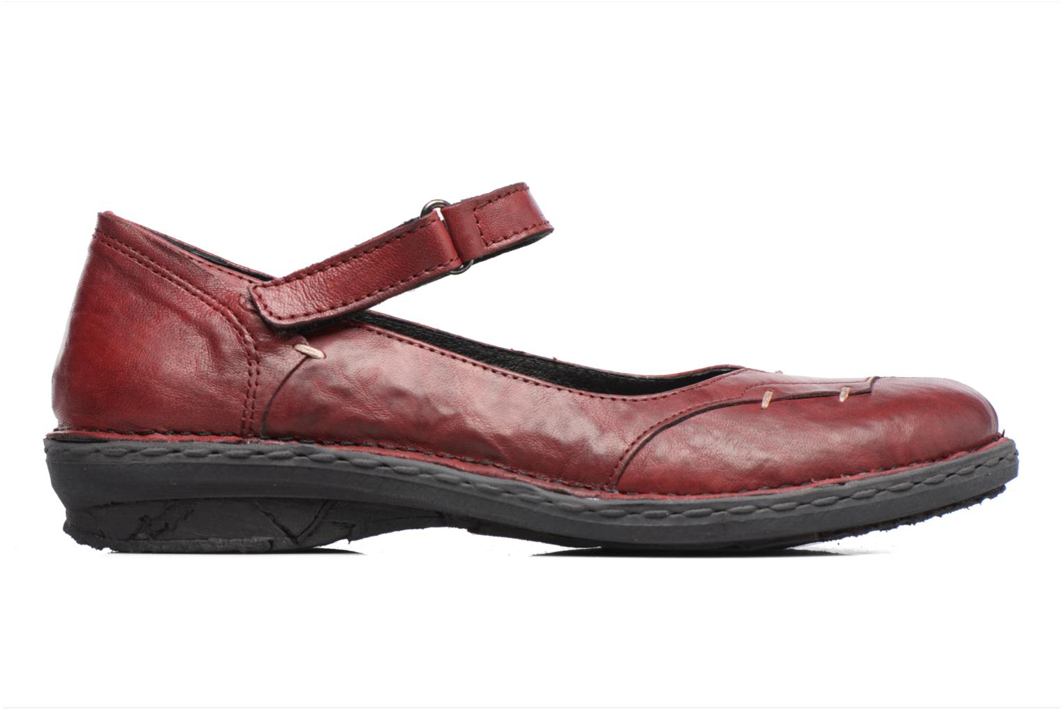 Ballet pumps Khrio Imul Red back view
