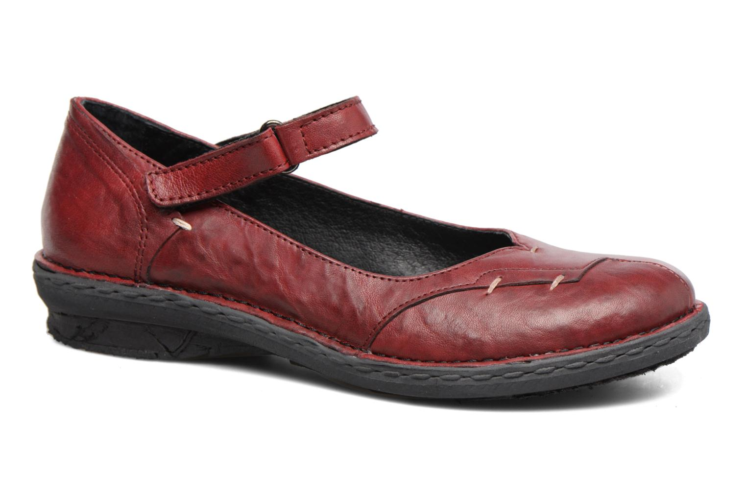 Ballet pumps Khrio Imul Red detailed view/ Pair view