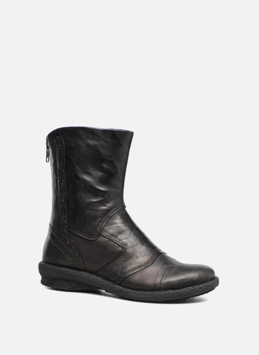 Boots en enkellaarsjes Khrio Tronchetto Zwart detail
