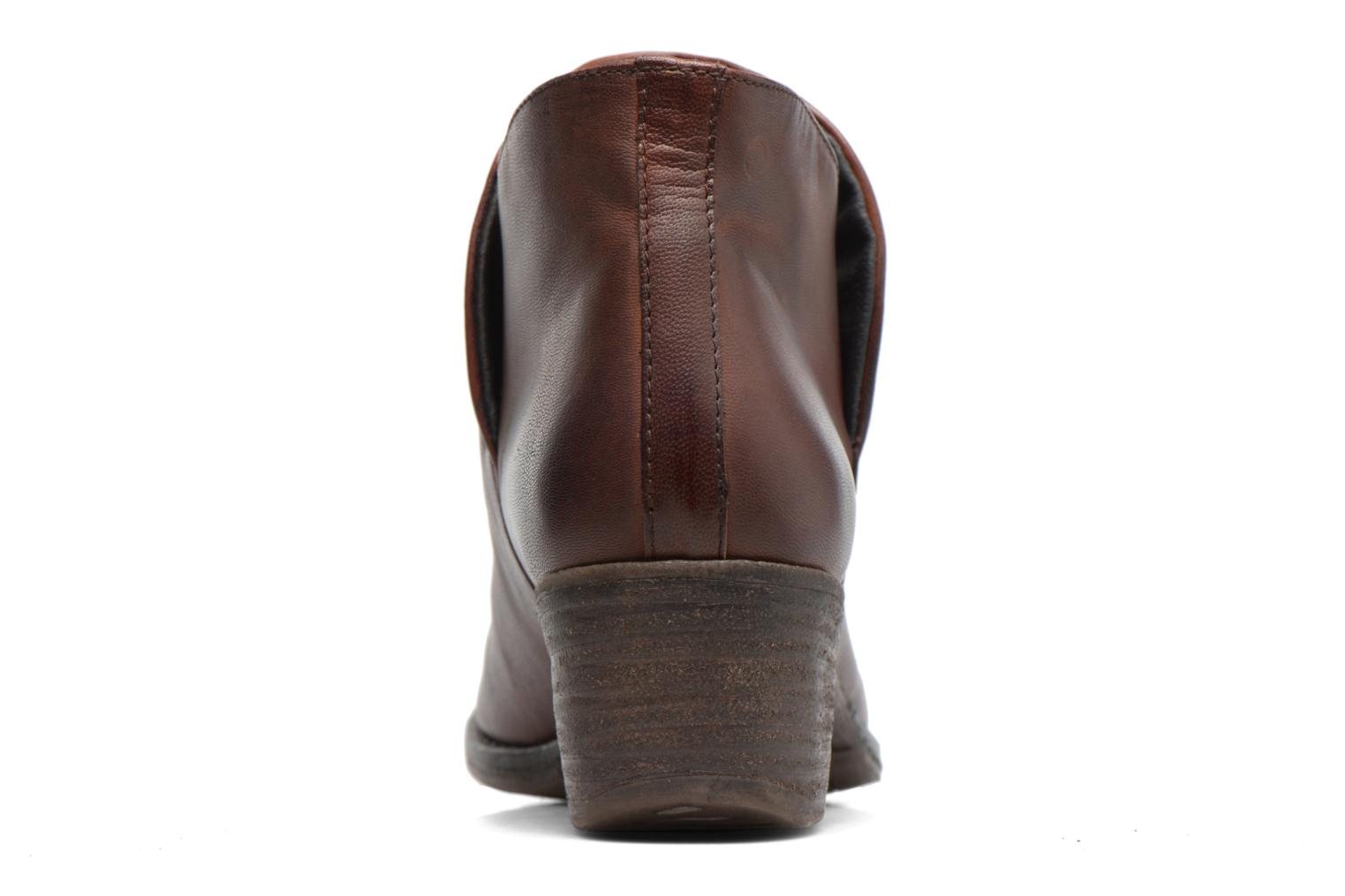 Ankle boots Khrio Silcil Brown view from the right