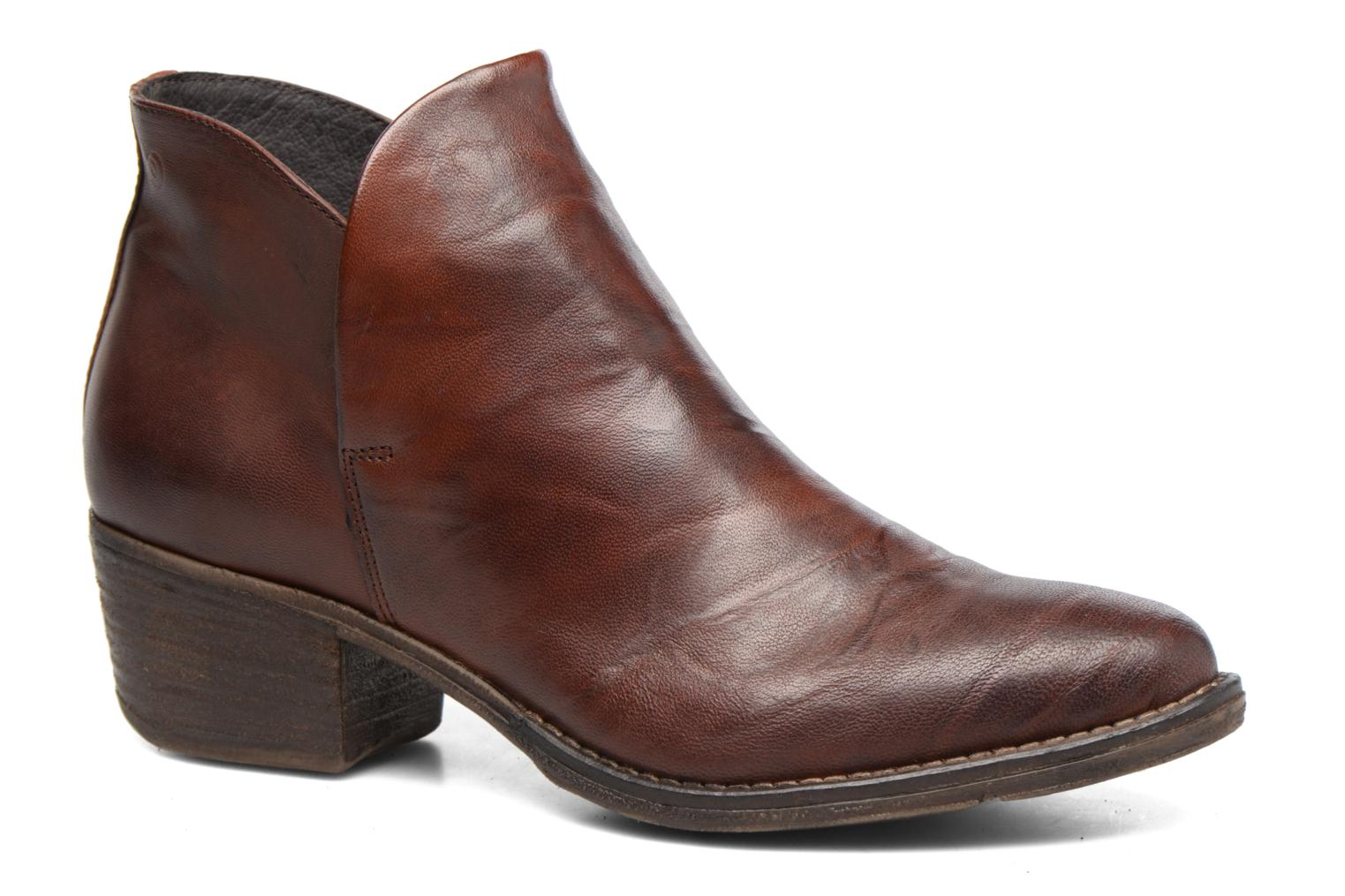 Ankle boots Khrio Silcil Brown detailed view/ Pair view