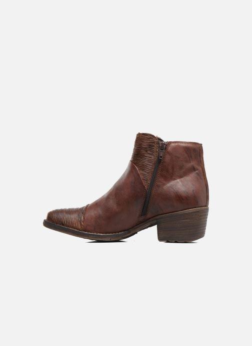 Boots en enkellaarsjes Khrio Belal Bruin voorkant