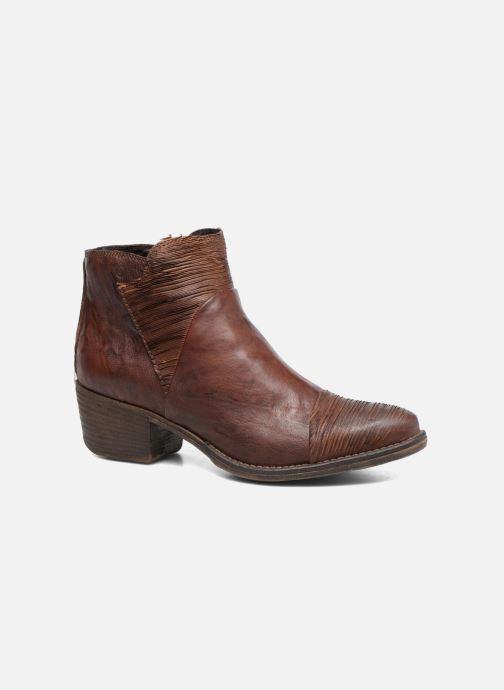 Boots en enkellaarsjes Khrio Belal Bruin detail
