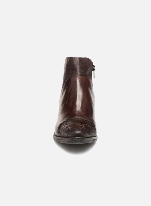 Bottines et boots Khrio Belal Bordeaux vue portées chaussures