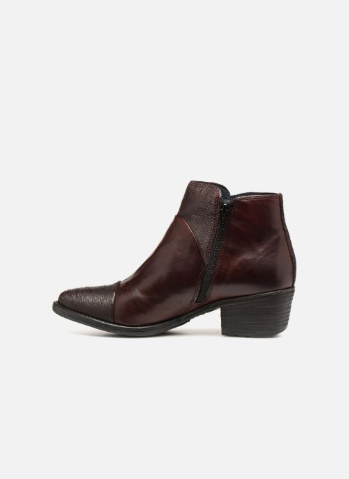 Bottines et boots Khrio Belal Bordeaux vue face