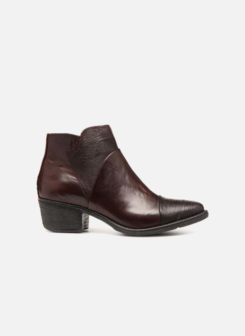 Bottines et boots Khrio Belal Bordeaux vue derrière