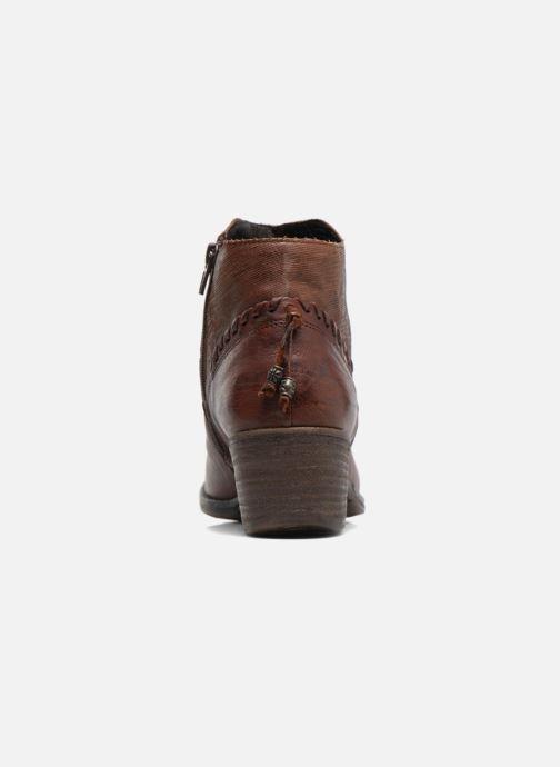Bottines et boots Khrio Duilum Marron vue droite