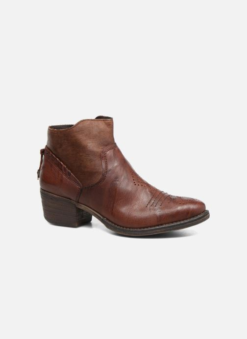 Bottines et boots Khrio Duilum Marron vue détail/paire