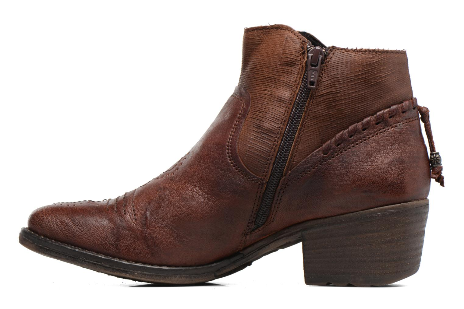 Bottines et boots Khrio Duilum Marron vue face