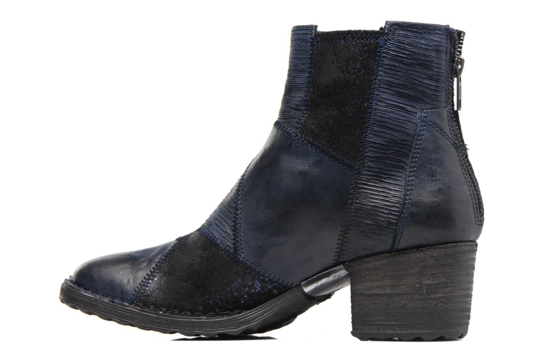 Bottines et boots Khrio Galmae Bleu vue face