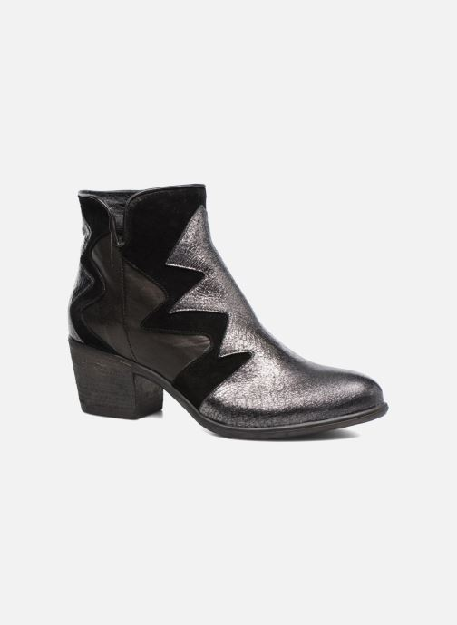 Ankle boots Khrio Sheltarie Black detailed view/ Pair view