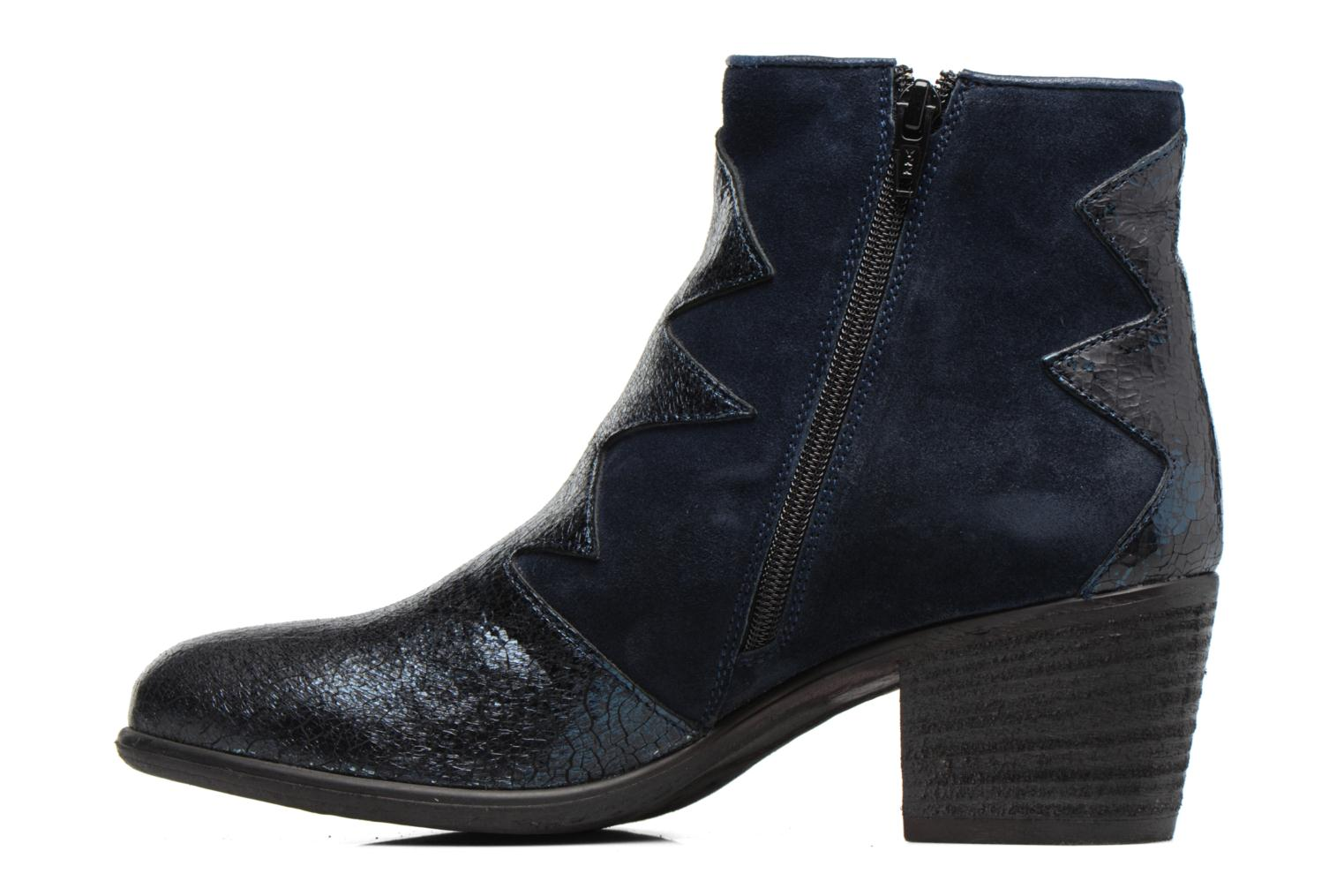 Ankle boots Khrio Sheltarie Blue front view