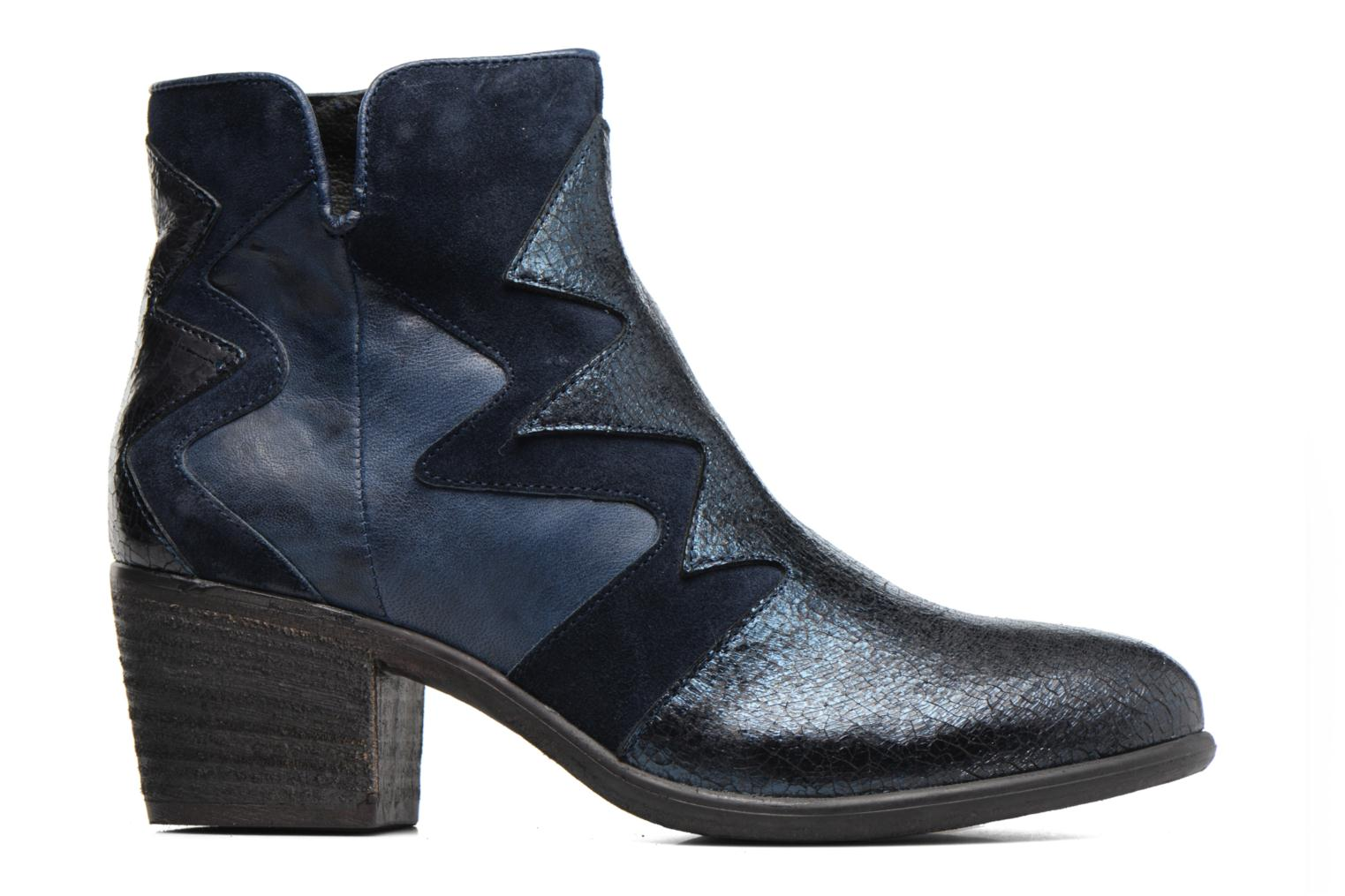 Ankle boots Khrio Sheltarie Blue back view