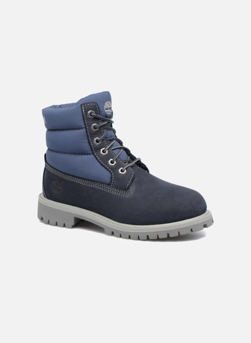 Bottines et boots Timberland 6 In Quilt Boot Navy Bleu vue détail/paire