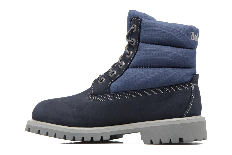 Bottines et boots Timberland 6 In Quilt Boot Navy Bleu vue face