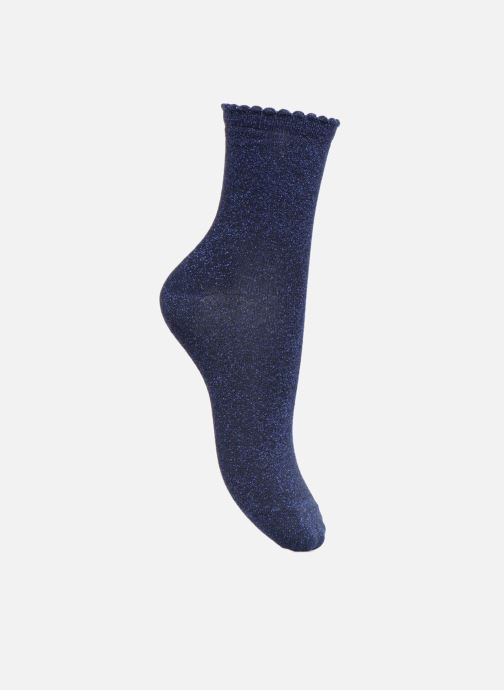 Socks & tights Pieces Chaussettes Sebby Glitter Blue detailed view/ Pair view
