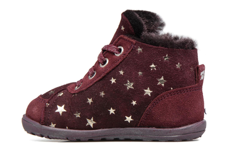 Boots en enkellaarsjes Richter Minki Paars voorkant