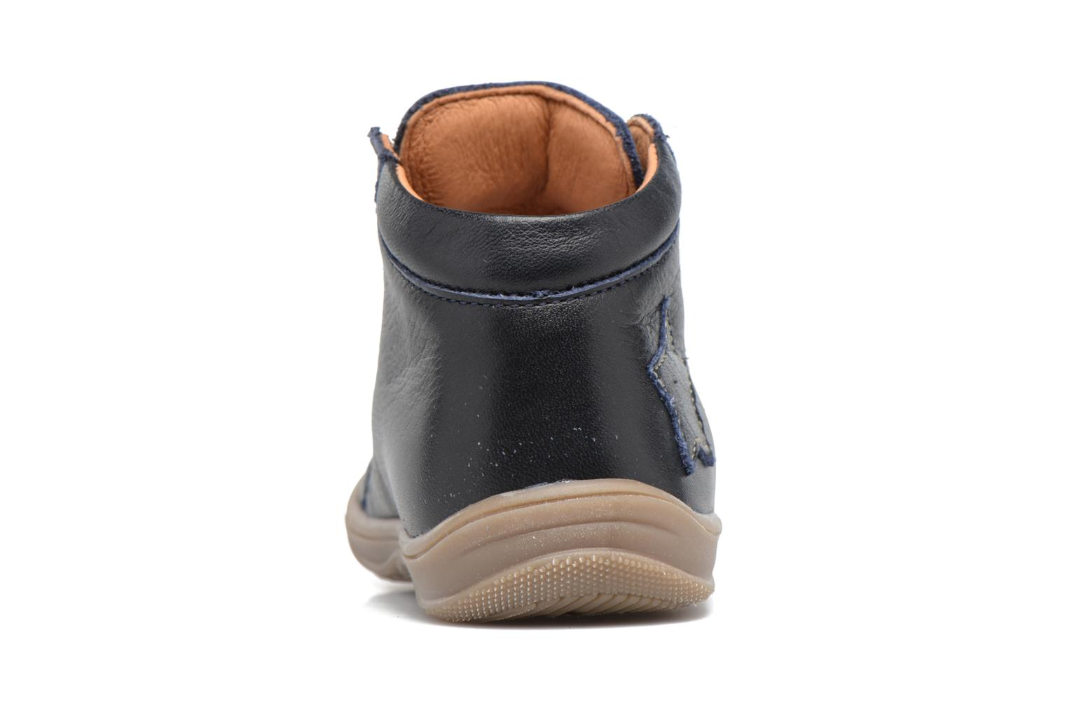 Ankle boots Richter Erni Blue view from the right