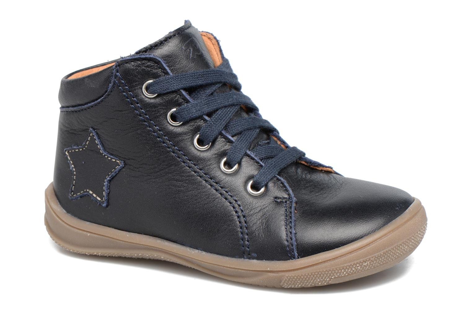 Ankle boots Richter Erni Blue detailed view/ Pair view