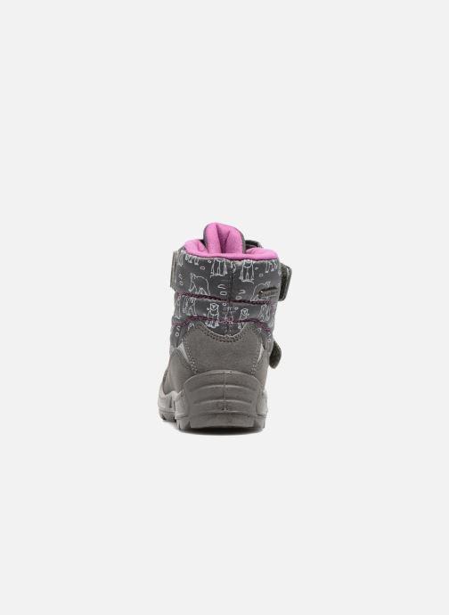 Zapatillas de deporte Richter Leos Violeta      vista lateral derecha