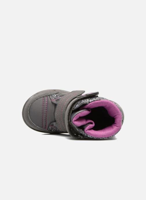 Zapatillas de deporte Richter Leos Violeta      vista lateral izquierda