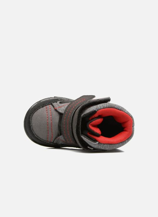 Zapatillas de deporte Richter Leos Gris vista lateral izquierda
