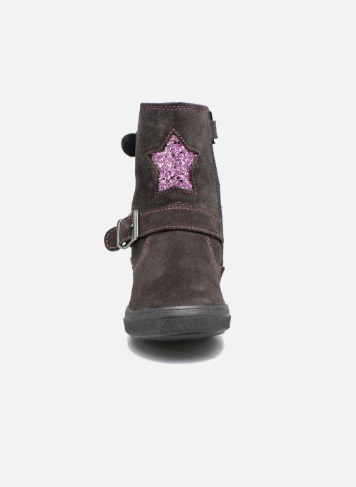 Bottes Richter Elenia Gris vue portées chaussures