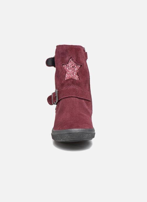 Bottes Richter Elenia Violet vue portées chaussures
