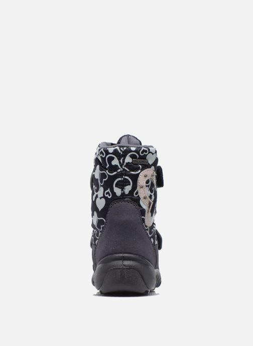 Zapatillas de deporte Richter Jutta Azul vista lateral derecha