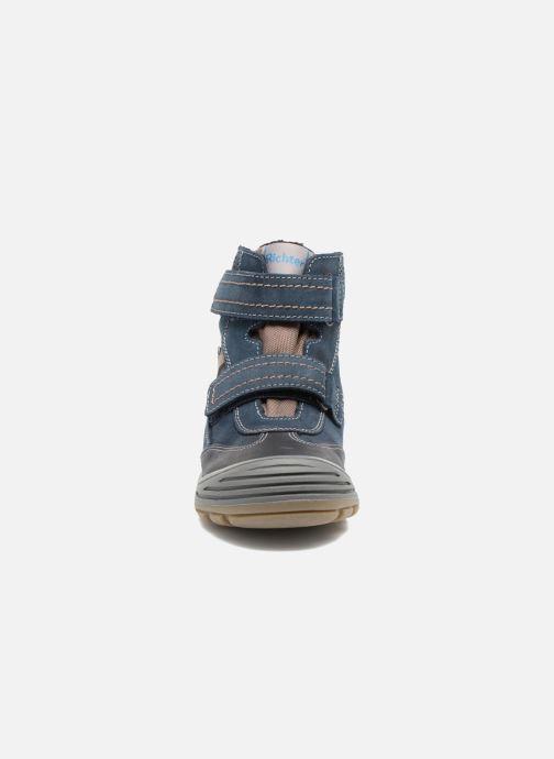 Chaussures de sport Richter Tomas Bleu vue portées chaussures