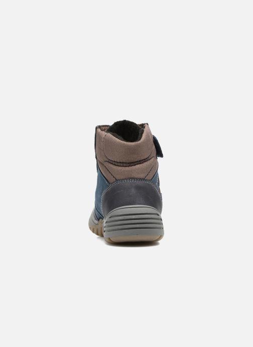 Zapatillas de deporte Richter Tomas Azul vista lateral derecha