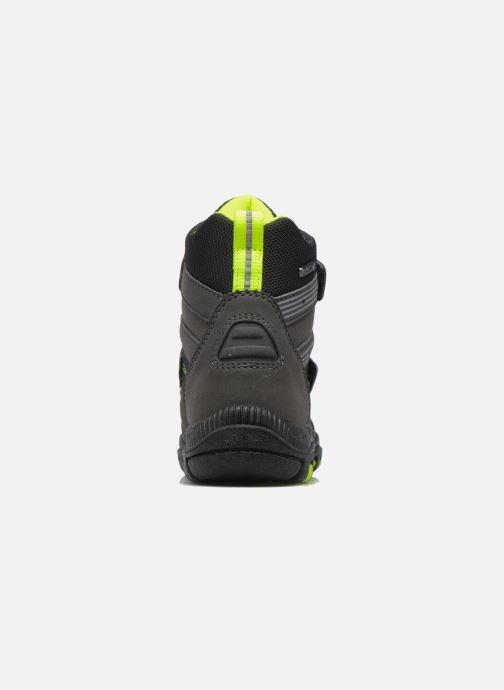Zapatillas de deporte Richter Roman Negro vista lateral derecha