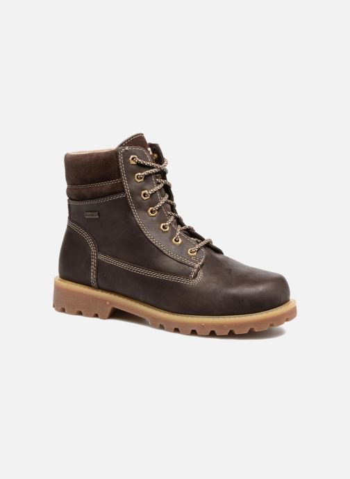 Boots en enkellaarsjes Richter Johan Bruin detail