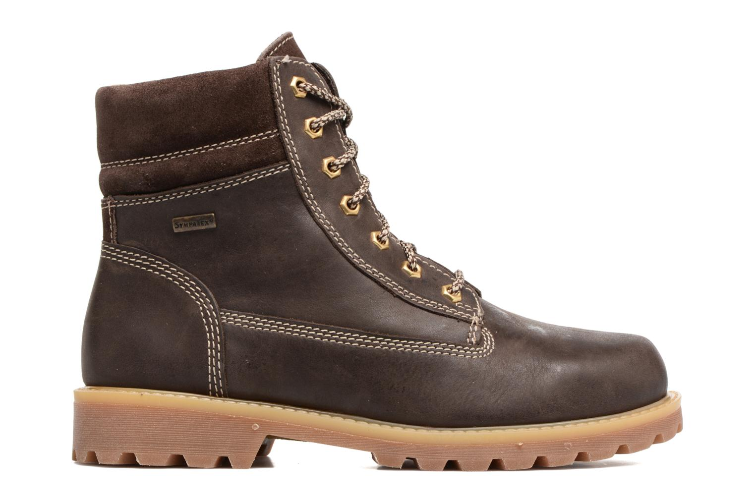 Ankle boots Richter Johan Brown back view