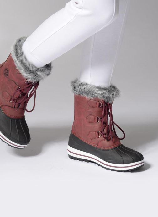 Chaussures de sport Kimberfeel Adriana 2 Marron vue bas / vue portée sac