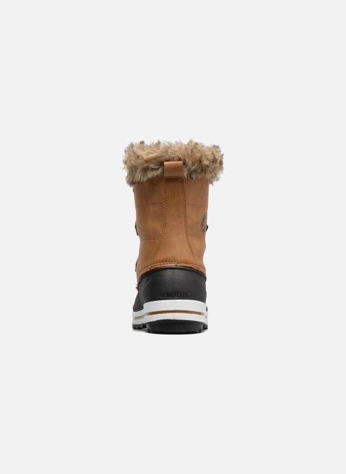 Zapatillas de deporte Kimberfeel Adriana 2 Marrón vista lateral derecha