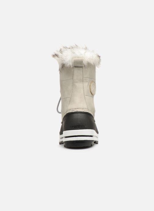 Zapatillas de deporte Kimberfeel Adriana 2 Gris vista lateral derecha
