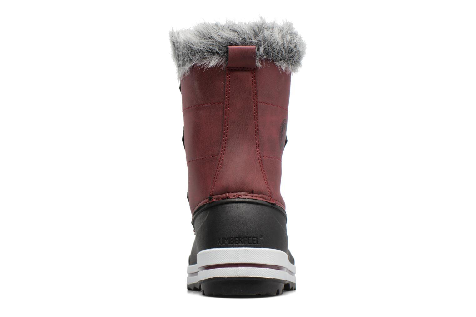 Sport shoes Kimberfeel Adriana 2 Burgundy view from the right