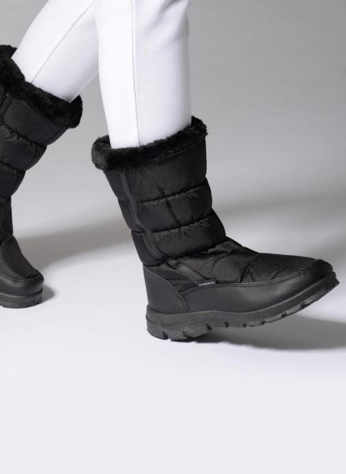 Chaussures de sport Kimberfeel Cleya Noir vue bas / vue portée sac