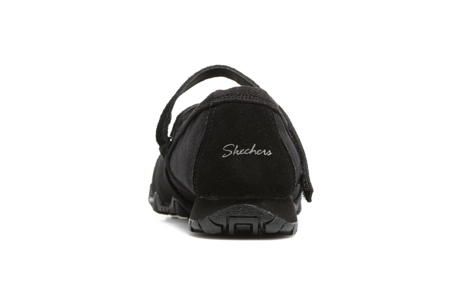 Ballet pumps Skechers Go step lite quaint Black view from the right