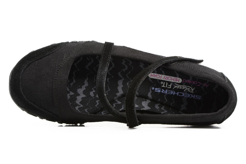 Ballerine Skechers Go step lite quaint Nero immagine sinistra
