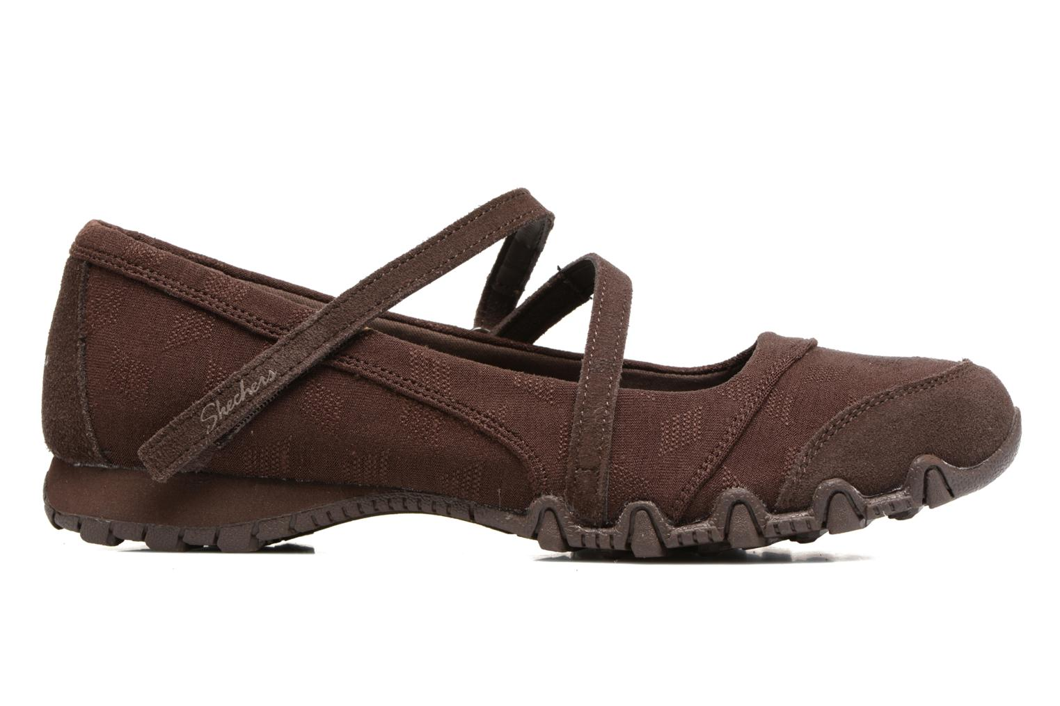 Ballerines Skechers Go step lite quaint Marron vue derrière