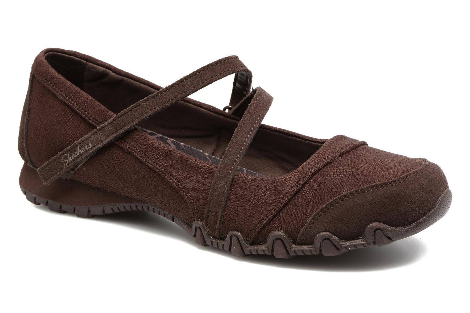 Ballerines Skechers Go step lite quaint Marron vue détail/paire