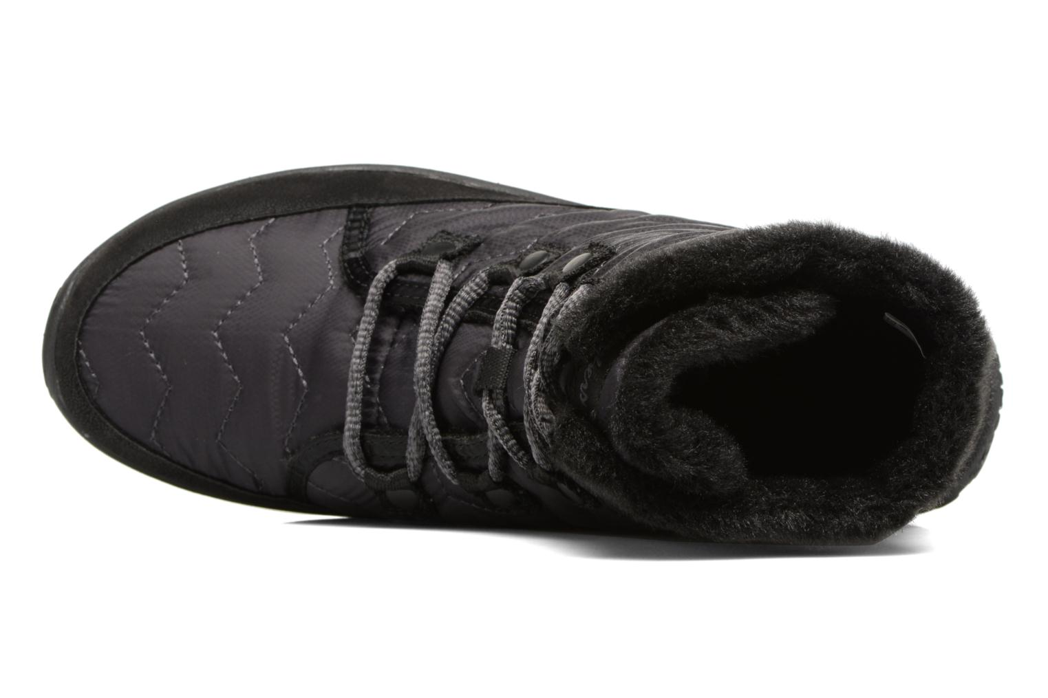 Ankle boots Skechers Reggae Fest Vector Black view from the left
