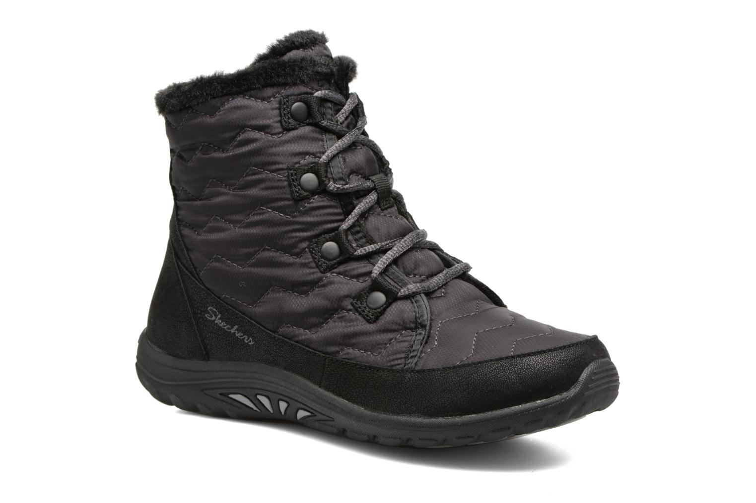 Ankle boots Skechers Reggae Fest Vector Black detailed view/ Pair view