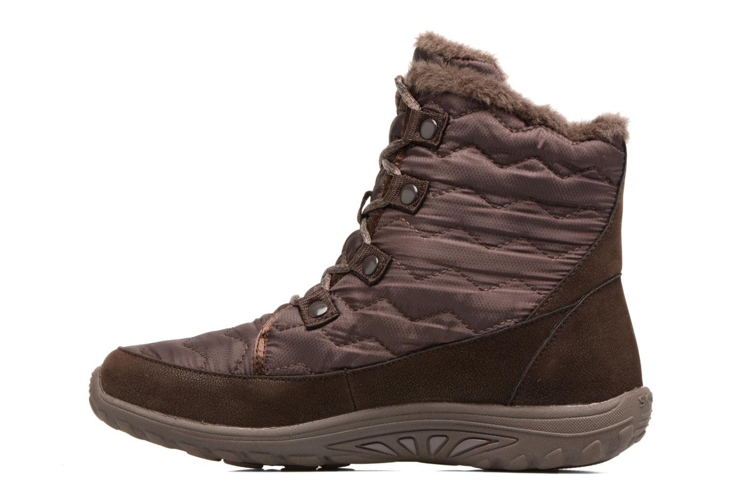 Ankle boots Skechers Reggae Fest Vector Brown front view