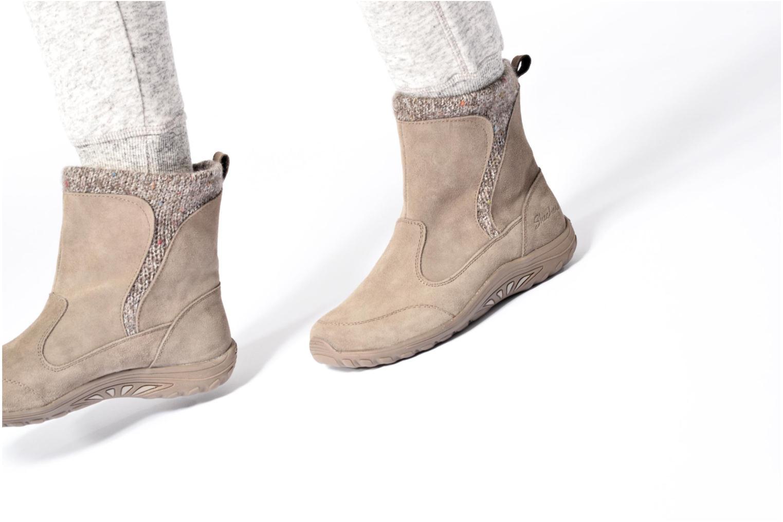Bottines et boots Skechers Reggae Fest Folksy Noir vue bas / vue portée sac